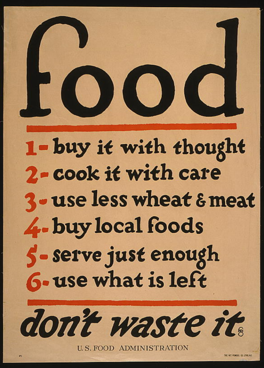 Frugal Friday ~1917