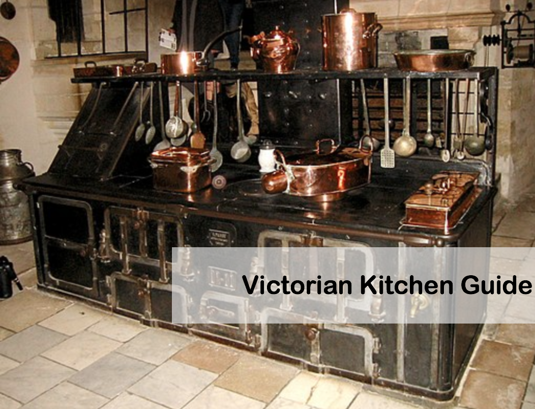 Photograph of Victorian Kitchen Stove