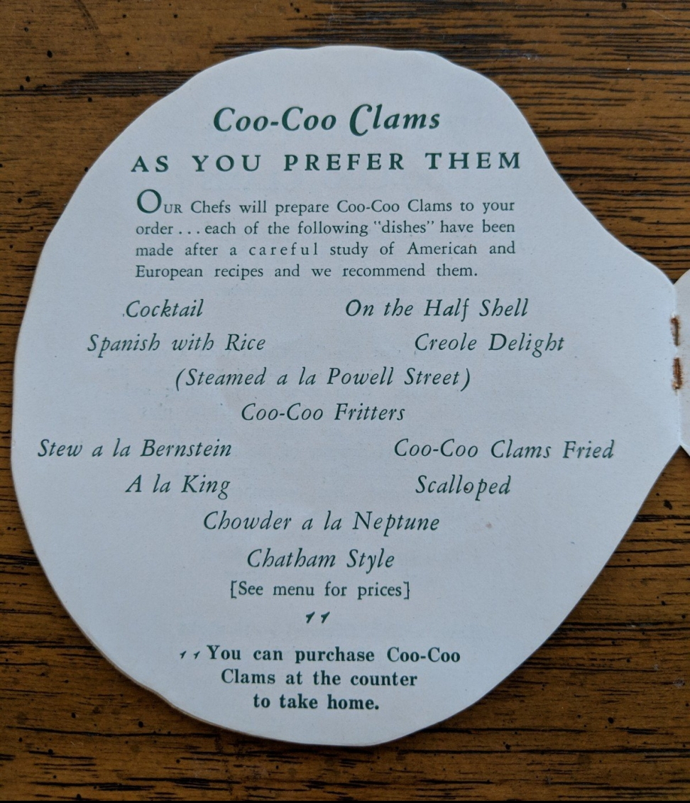 Coo-coo-clam-serving-ideas