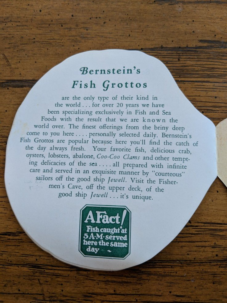 Bersteins fish grotto