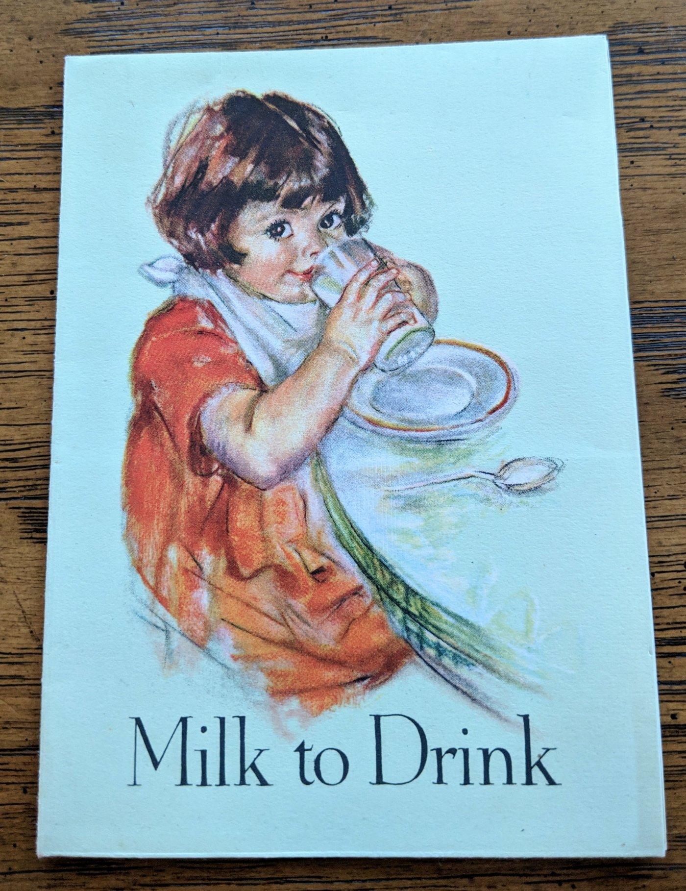 Pet Milk to Drink Leaflet