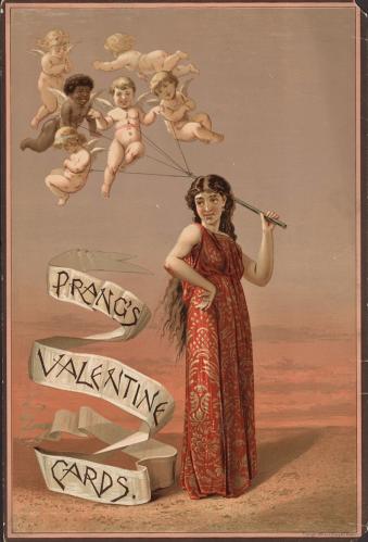 Prang's Valentine cards 1883