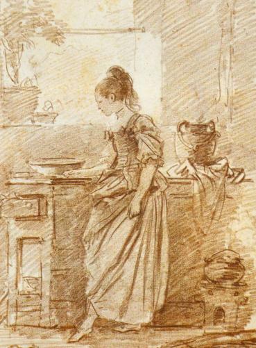 Jean-Honoré Fragonard - The Party Cook