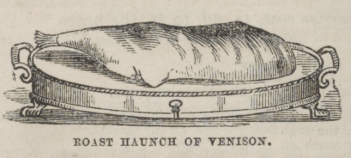 Roast Haunch Venison 1860s
