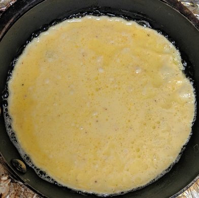 Irish Pancakes Frying