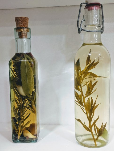 Vinegar Olive Oil