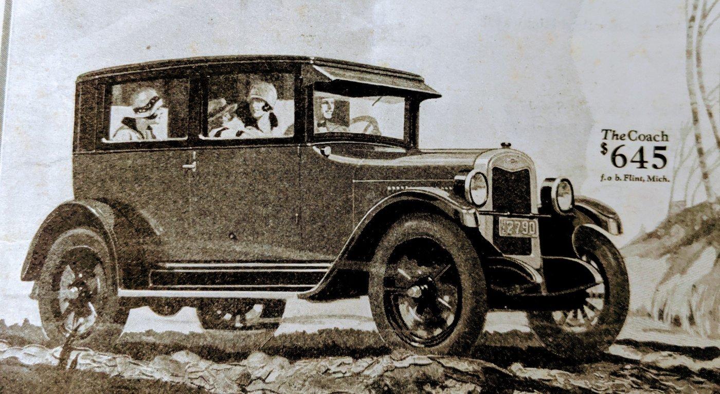 1926 Chevrolet Advertisement
