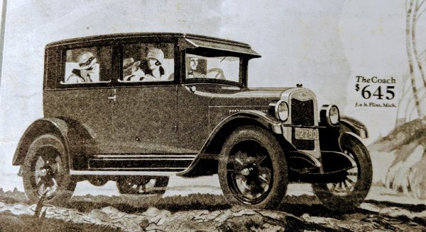 1926 Chevrolet Advertisement