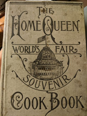 1893 World's Fair Cook Book