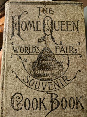 1893 World's Fair Cook Book